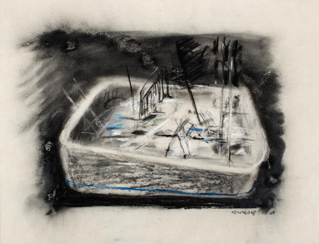William Joseph Kentridge (South African, born 1955) Bath/basin with occupants