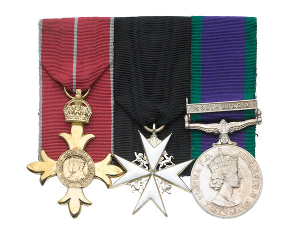 An O.B.E. group of three to Brigadier P.H.Swinhoe, Royal Army Medical Corps,