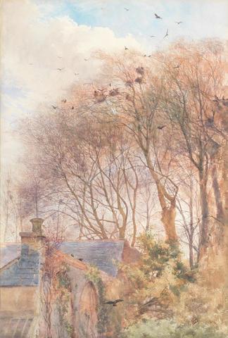 Mildred Anne Butler (Irish, 1858-1941) Nest at Kilmurry