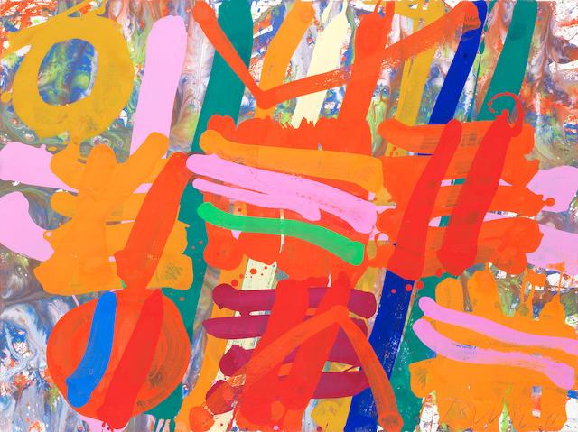 Albert Irvin RA (British, born 1922) Kennington Series no.1
