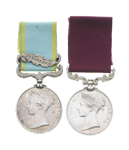 Pair to Sergeant R.Wilson, Army Hospital Corps, late 77th Foot,