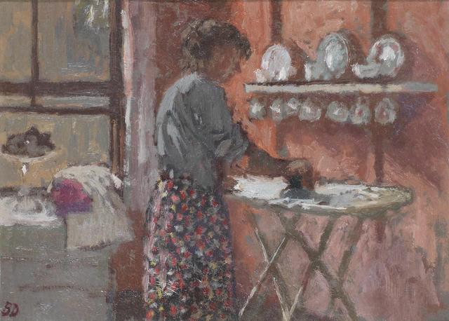 Bernard Dunstan, R.A. (British, born 1920) The Kitchen