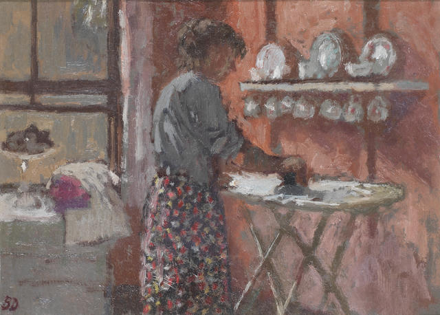 Bernard Dunstan, R.A. (British, born 1920) The Kitchen