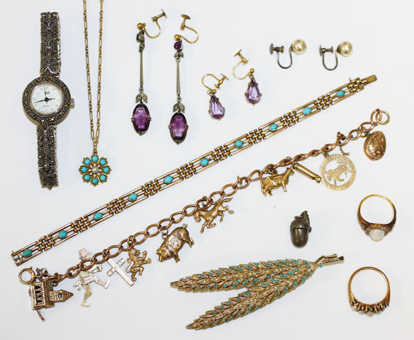 A collection of jewellery, (11)