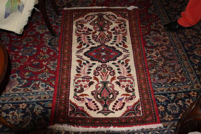 A modern Kazak style rug,