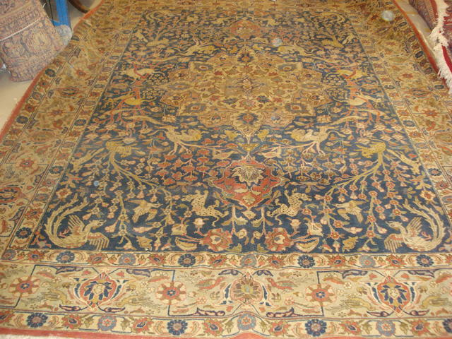 A Tabriz carpet, North West Persia, 350cm x 260cm