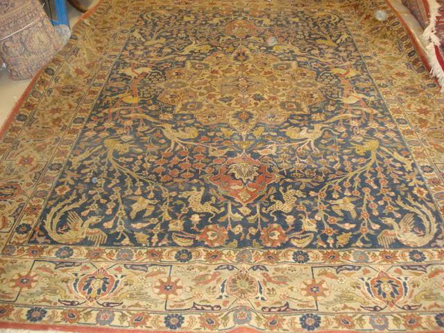 A Tabriz carpet, North West Persia, 350cm x 260cm