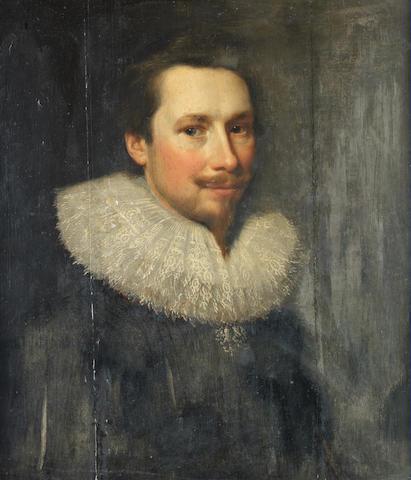 Michiel Jansz. van Miereveldt (Delft 1567-1641) Portrait of a bearded man, bust-length,