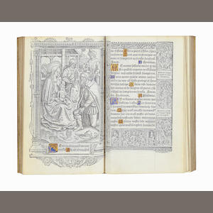 BOOK OF HOURS, Use of Rome Hore beate Marie viginis secu[n]du[m] usu[m] Romanum, Paris, Vostre, 1507