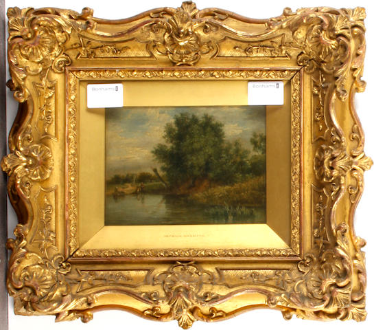 Manner of Patrick Nasmyth Riverside Scene