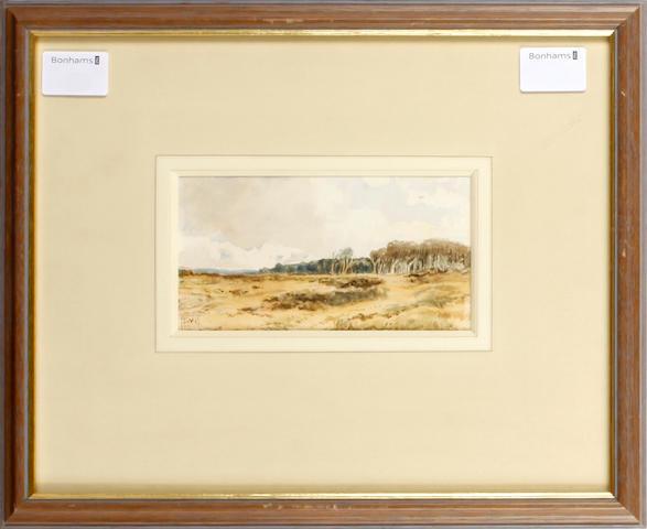 Edmund Morison Wimperis, VPRI (British, 1835-1900) Sandhills near Southbourne, Hampshire