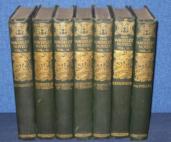 Scott (Sir Walter) Waverley novels, 26 vol.