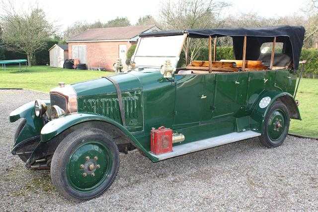 c.1918 De Dion Bouton Model HD 15cv 2.9litre Charabanc  Chassis no. HD 22751 Engine no. 183240