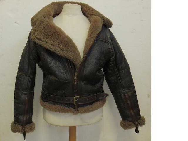 An Irvin RAF sheepskin flying jacket,