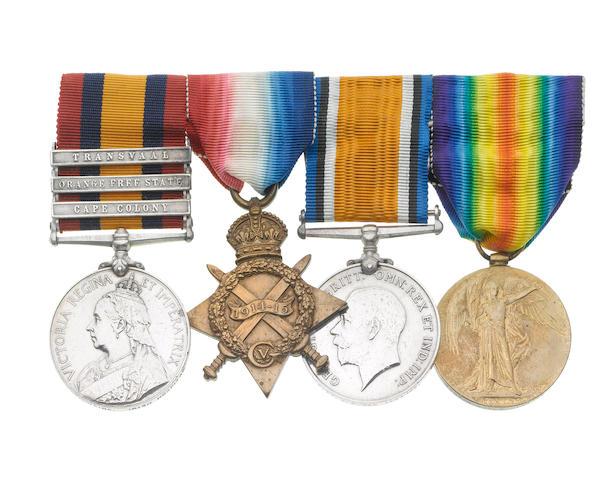 Four to Captain J.E.MacIlwaine, Royal Army Medical Corps, late Irish Hospital,