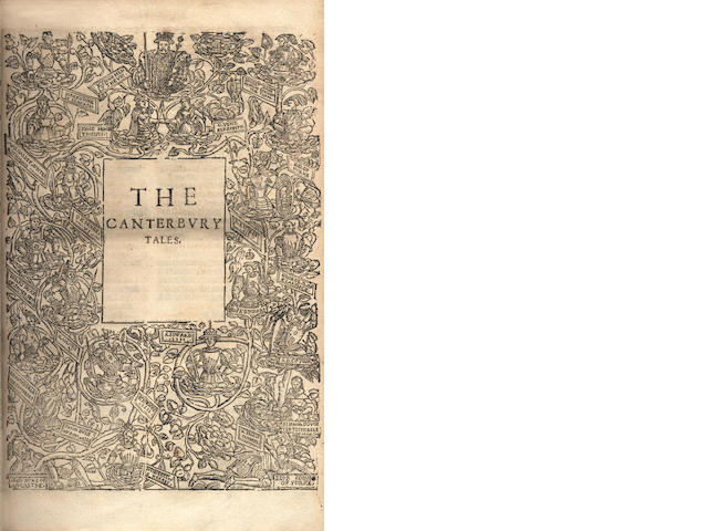 CHAUCER (GEOFFREY) The Workes of Our Ancient and Learned English Poet, 1598