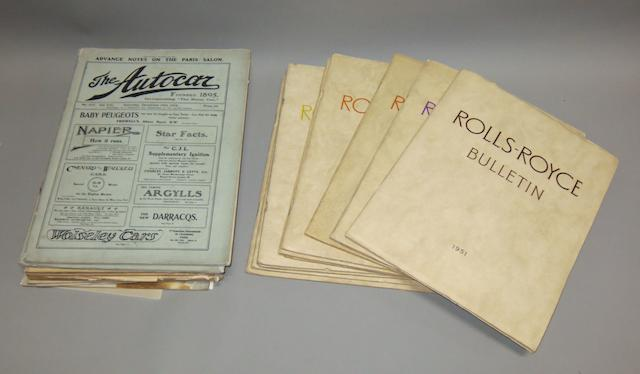 Ten post-War Rolls-Royce Bulletins