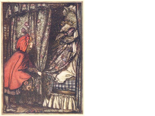 RACKHAM (ARTHUR) Grimm's Fairy Tales, Constable, 1909