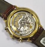 Audemars Piguet. An 18ct gold automatic calendar chronograph wristwatchCase No.C97550, Movement No.355639, Circa 1995