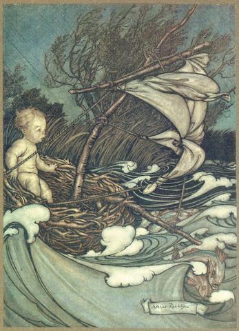 RACKHAM (ARTHUR) BARRIE (J.M.) Peter Pan in Kensington Gardens, 1906; and 2 others, Rackham  (3)