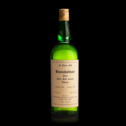 Bunnahabhain-28 year old-1947