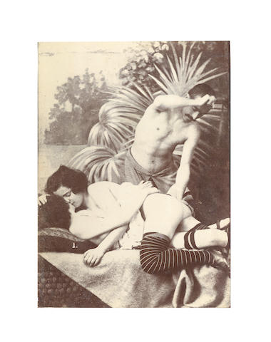 EROTICA - Album of approximately 300 photographic images, and approx. 70 postcards, [early twentieth edition]