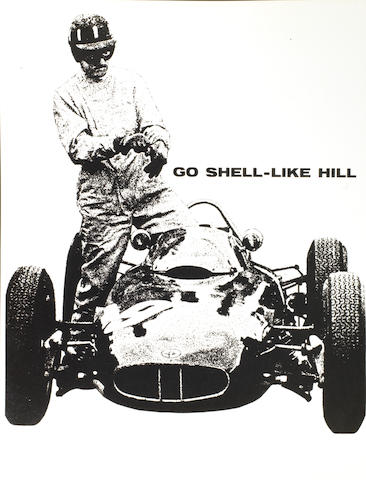 Assorted 'Shell Photographic' motor racing images,