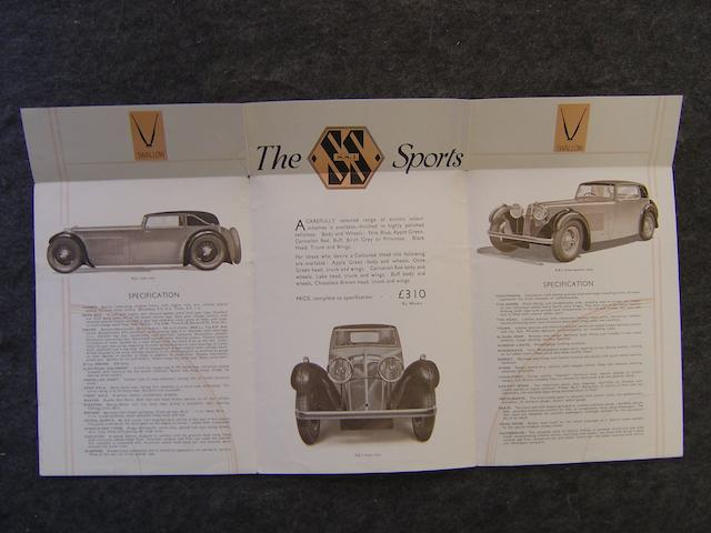An SS1 six page brochure,