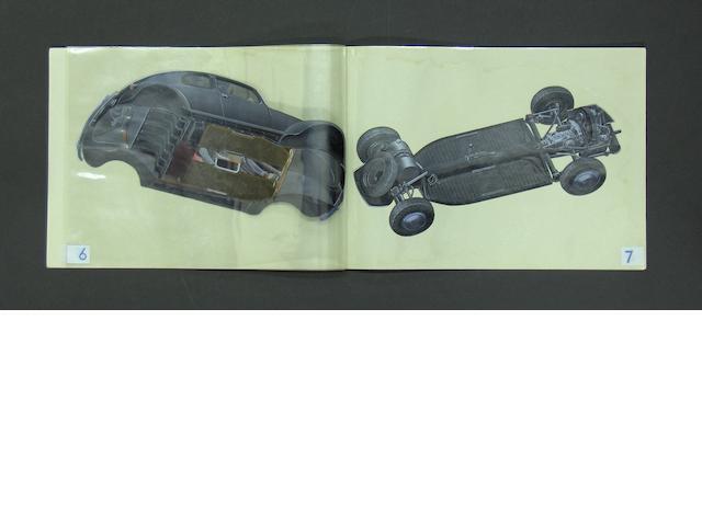 A Volkswagen-Werk brochure,
