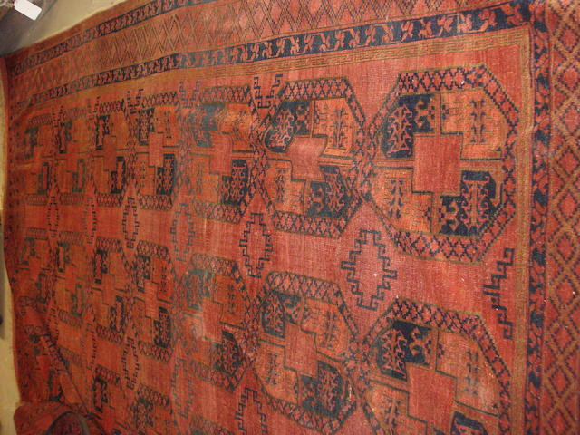 An Ersari carpet, West Turkestan, 355cm x 315cm