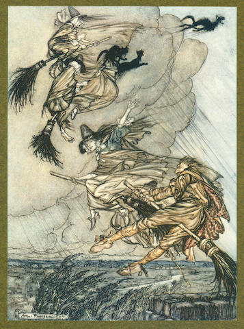 RACKHAM (ARTHUR) [BARHAM (RICHARD HARRIS)] The Ingoldsby Legends, 1909; and 6 others