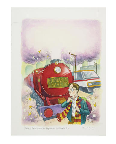 ROWLING Harry Potter artwork
