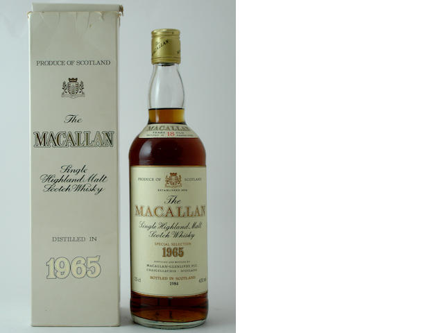 The Macallan-18 year old-1965