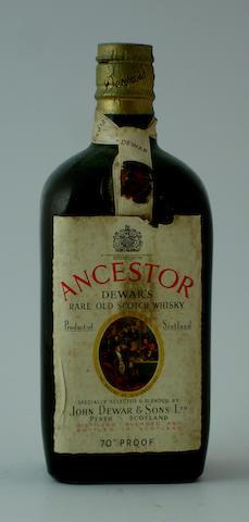 Dewar's Ancestor-Circa 1950's