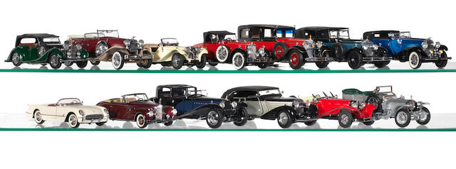 A good collection of models cars,