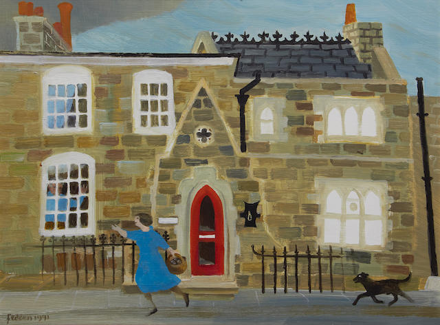 Mary Fedden R.A. (British, 1915-2012) The red door