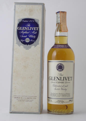 The Glenlivet Special Export Reserve
