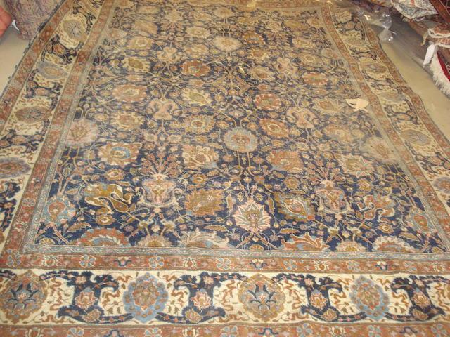 A Tabriz carpet, North West Persia, 339cm x 239cm