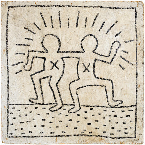 Keith Haring (American, 1958-1990) Untitled