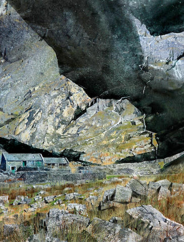 Malcolm Edwards RCA (active from 1980) 'Tal Y Llyn, Ogwen'