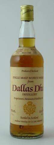 Dallas Dhu-22 year old-1962