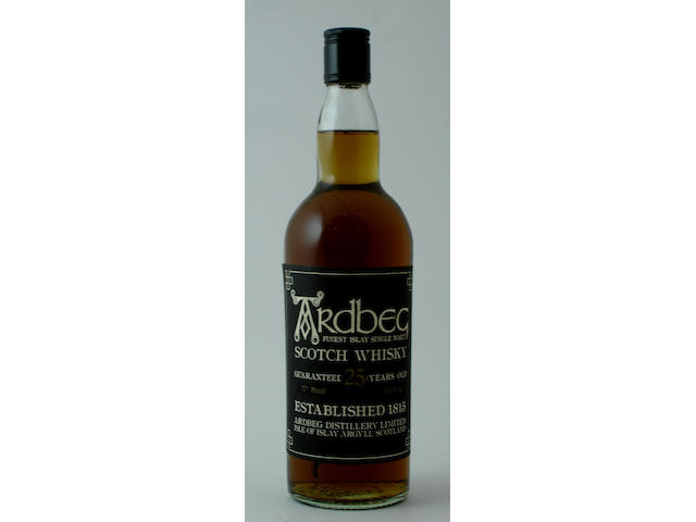 Ardbeg-25 year old