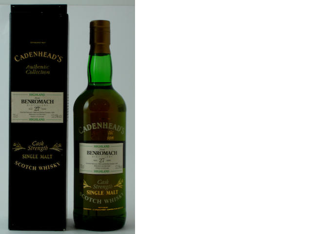 Benromach-27 year old-1966 (2)