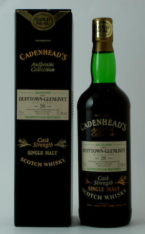 Dufftown-Glenlivet-28 year old-1966