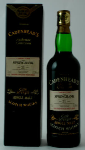 Springbank-31 year old-1963