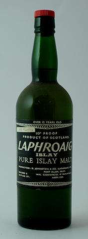 Laphroaig-Over 12 year old