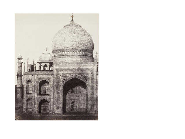 DE LA GRANGE (ALEXIS) An album of 49 architectural views of key locations around India's northern interior, [c.1849-1850]