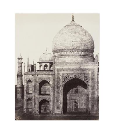 DE LA GRANGE (ALEXIS) An album of 49 architectural views of key locations around India's northern interior, [c.1849-1850]