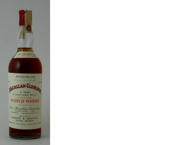 Macallan-Glenlivet-25 year old-1950