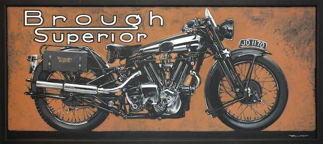 Tony Upson, 'Brough Superior SS100',